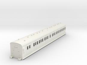 o-76-sr-lswr-d97-pushpull-trailer-coach-1 in White Natural Versatile Plastic