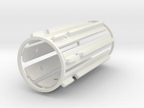 MR 45 T-grips Luke ep5 tESB in White Natural Versatile Plastic