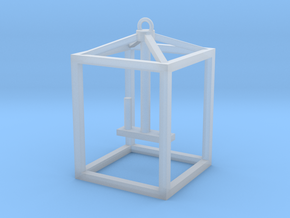 Hanging Lantern (2 Candles) in Smooth Fine Detail Plastic