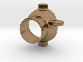 Steering Nozzle for V1.3 Jet Drives in Natural Brass