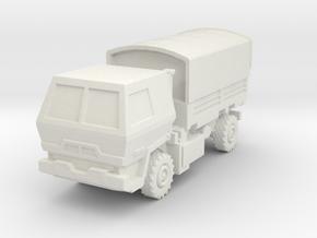 M1078 LMTV Armored 1/160 in White Natural Versatile Plastic