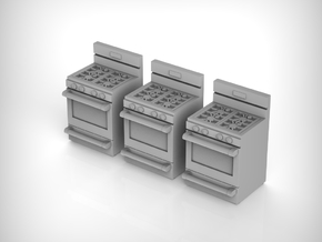 Stove 01. 1:72 Scale in Smooth Fine Detail Plastic