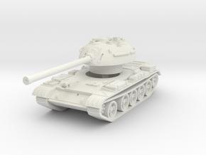 T-54-3 Mod. 1951 1/76 in White Natural Versatile Plastic
