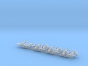 AD-5W/EA-1E w/gear x8 (CW) in Smooth Fine Detail Plastic: 1:600