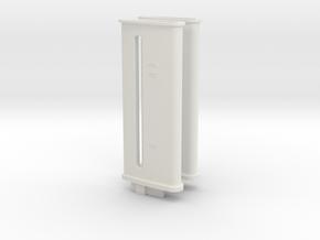 1/1000 USS Enterprise (Discovery) PL Conv. Pylons in White Natural Versatile Plastic
