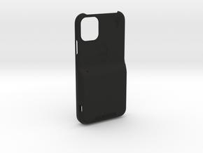 iPhone 11 LooplyCase™ with RileyLink Inlay in Black Natural Versatile Plastic