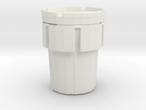Hazmat Salvage Drum 1/48 in White Natural Versatile Plastic