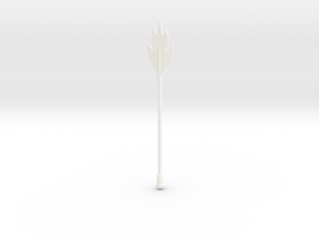 Beak-Or Staff VINTAGE in White Processed Versatile Plastic