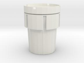 Hazmat Salvage Drum 1/12 in White Natural Versatile Plastic