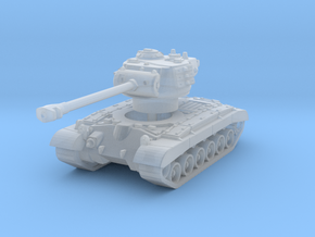 M26 Pershing (skirts) 1/200 in Smooth Fine Detail Plastic
