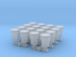 Hazmat Salvage Drum (x16) 1/200 in Smooth Fine Detail Plastic