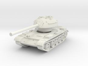 T-54 Mod. 1953 1/72 in White Natural Versatile Plastic