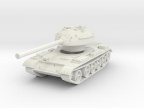 T-54 Mod. 1953 1/120 in White Natural Versatile Plastic