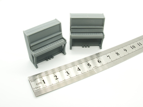 Piano 01. 1:56 Scale (28mm) in Smooth Fine Detail Plastic