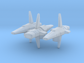 Talarian Observer 1/7000 Attack Wing x3 in Smooth Fine Detail Plastic