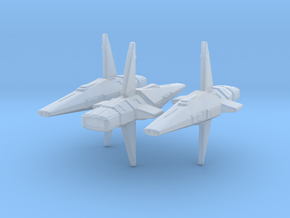 Talarian Observer 1/4800 Attack Wing x3 in Smooth Fine Detail Plastic
