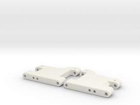 MO28-7 - 41.5mm Stiff Rear suspension arm  in White Natural Versatile Plastic