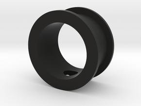 Spitfire rudder bar slide bearing in Black Natural Versatile Plastic
