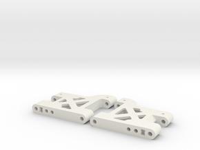 MO28-2 - 39.5mm Lightweight rear suspension arm in White Natural Versatile Plastic