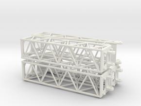 Universal crane boom in White Natural Versatile Plastic: 1:50