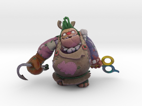 Toy Butcher Pudge Persona in Natural Full Color Sandstone: Medium