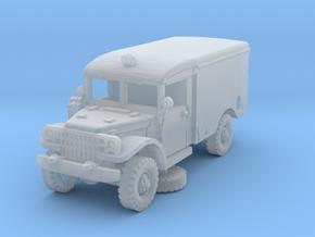 Dodge M43 Ambulance 1/160 (no windows) in Smooth Fine Detail Plastic