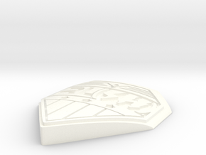 RLSH YOU KNOW WHAT TO DO BADGE in White Processed Versatile Plastic