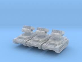 Panzer IV Raketenwerfer (x3) 1/220 in Smooth Fine Detail Plastic