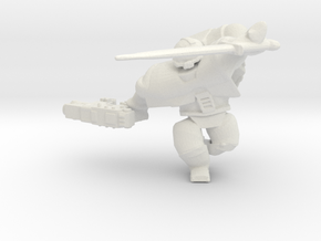 Space Mariner BoltPistol Sword in White Natural Versatile Plastic