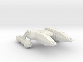 3788 Scale Lyran Refitted Black Cheetah (HFF) CVN in White Natural Versatile Plastic