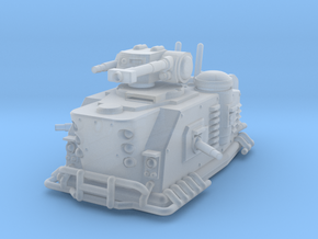Martian Hovertank Destroyer in Smooth Fine Detail Plastic: Small