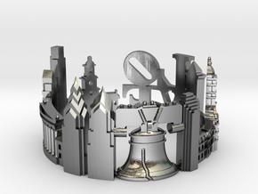 Philadelphia Skyline - Cityscape Ring in Polished Silver: 9 / 59