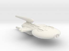 3788 Scale Gorn X-Ship Advanced Destroyer+ (DDX+) in White Natural Versatile Plastic