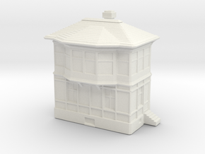 Railway Signal Tower 1/285 in White Natural Versatile Plastic