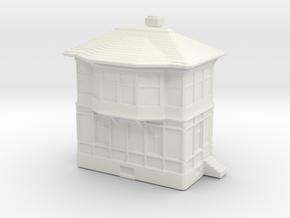 Railway Signal Tower 1/350 in White Natural Versatile Plastic