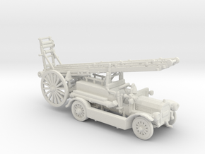 1922 fire truck in White Natural Versatile Plastic