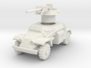 Sdkfz 221 2.8cm sPzB 41 1/56 in White Natural Versatile Plastic