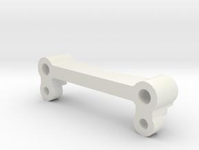 MO14-1.11|TL-01| Stabiliser mount in White Natural Versatile Plastic
