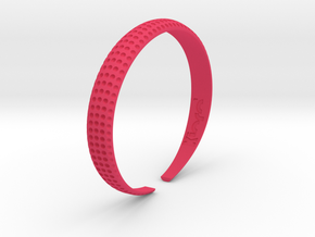 Voilà Cuff in Pink Strong & Flexible Polished: Medium