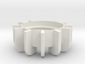 TeaC   Base (12) *All in White Natural Versatile Plastic