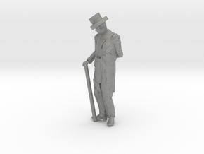 S Scale Fancy Dan in Gray PA12