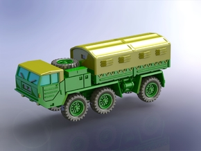 Faun 912/21 203 6x6 Heavy Truck (closed) 1/160 in Smooth Fine Detail Plastic