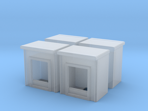 Fireplace (x4) 1/200 in Smoothest Fine Detail Plastic