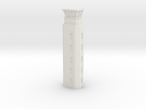 Airport ATC Tower 1/120 in White Natural Versatile Plastic