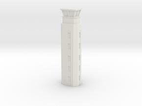 Airport ATC Tower 1/285 in White Natural Versatile Plastic