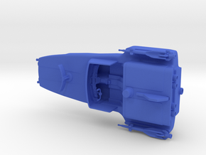 Captain Action Silver Streak Original 1 piece in Blue Processed Versatile Plastic