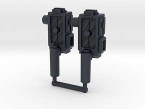 """Sparkbuster"" Traps (5mm) in Black PA12: Medium"