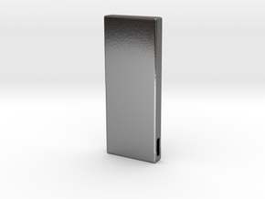SilverBar.V1 in Polished Silver: Small