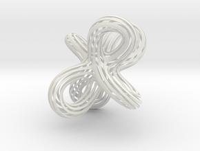 Super Twist bigger in White Natural Versatile Plastic