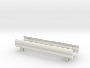 Guard Rail (x2) 1/64 in White Natural Versatile Plastic